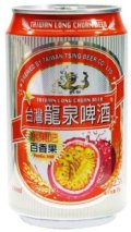 Taiwan Long Chuan Beer Fruit Bar Passion Fruit