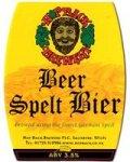 Hop Back Beer Spelt Bier