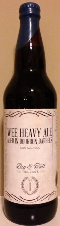 Blue Pants Big & Tall #1: Barrel Aged Wee Heavy Ale