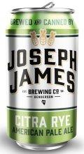 Joseph James Citra Rye Pale Ale