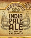 Ale Project India Pale Ale naturtr�b