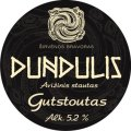 Dundulis Gutstoutas (Oatmeal Stout) - Sweet Stout