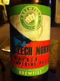 Brewfist Czech Norris Walker Imperial Pils