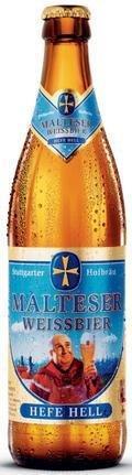 Malteser Weissbier Hefe Hell - German Hefeweizen