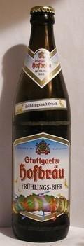Stuttgarter Hofbr�u Fr�hlingsbier  - Pilsener