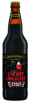 BridgePort Bear Hug Cherry Chocolate Stout - Fruit Beer