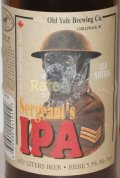 Old Yale Sergeants IPA - India Pale Ale (IPA)