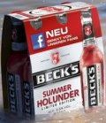 Beck�s Limited Edition 2013 Summer Holunder