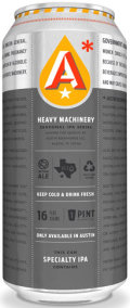 Austin Beerworks Heavy Machinery IPA Series #1: Heavy Fist