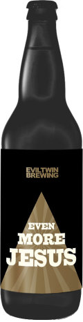 Evil Twin Bourbon Barrel Even More Jesus - Imperial Stout