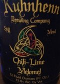 Kuhnhenn Chili-Lime Melomel - Mead
