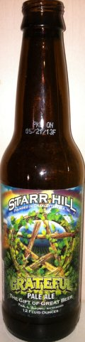 Starr Hill Grateful Pale Ale