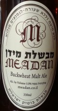 Meadan Buckwheat Malt Ale