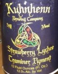 Kuhnhenn Strawberry Lychee Traminer Pyment - Mead