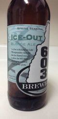 603 Ice - Out Blonde Ale