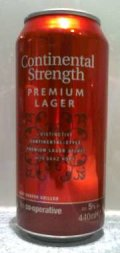 Co-op Continental Strength Premium Lager - Pale Lager