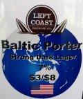 Left Coast Baltic Porter - Baltic Porter