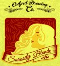 Oxford Sorority Blonde  - Golden Ale/Blond Ale