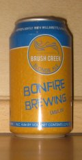 Bonfire Brush Creek Blonde Ale