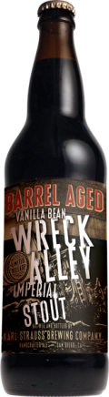 Karl Strauss Barrel Aged Vanilla Bean Wreck Alley Imperial Stout