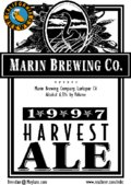 Marin Harvest Ale - Amber Ale