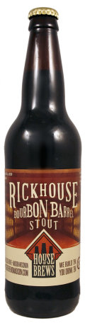 House of Brews Rickhouse Bourbon Barrel Stout
