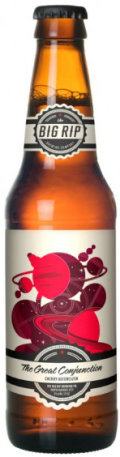 The Big Rip The Great Conjunction Cherry Hefe - Fruit Beer