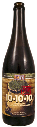 Swamp Head 10-10-10 IPA - Bourbon Barrel Aged