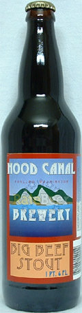 Hood Canal Big Beef Stout