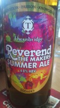 Thornbridge Reverend & the Makers Summer Ale - American Pale Ale