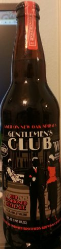 Widmer Brothers / Cigar City Gentlemen�s Club (New Oak Spirals) - American Strong Ale