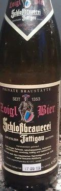 Schlo�brauerei Fattigau Zoigl Bier