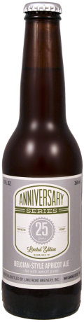 Lakefront 25th Anniversary Series #02 - Belgian Style Apricot Wheat Ale
