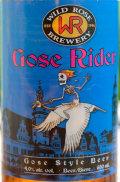 Wild Rose Gose Rider