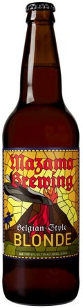 Mazama Belgian Style Blonde Ale