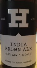 Harbour India Brown Ale
