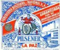 Pace�a Pilsener La Paz