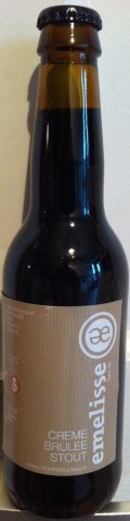 Emelisse Cr�me Brulee Stout ( Innovation Serie )