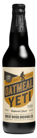 Great Divide Oatmeal Yeti Imperial Stout - Imperial Stout