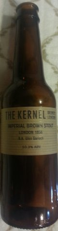 The Kernel Imperial Brown Stout (Glen Garioch Barrel Aged)