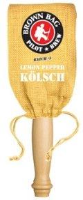 Long Trail Brown Bag Series # 5 Lemon Pepper Kolsch