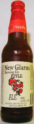 New Glarus Apple Ale