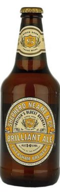 Shepherd Neame Brilliant Ale - Golden Ale/Blond Ale
