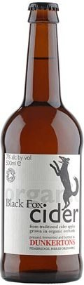 Dunkertons Black Fox Organic Cider (Bottle)