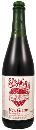 New Glarus Strawberry Rhubarb - Fruit Beer