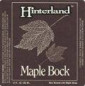 Hinterland Maple Bock