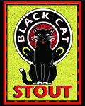 Valley Brew Black Cat Nitro Stout  - Stout