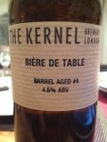 The Kernel Biere De Table (Barrel Aged #4) - Saison