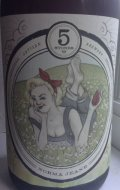 5 Stones Norma Jeane Blonde Ale - Fruit Beer