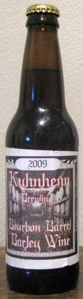 Kuhnhenn Bourbon Barrel Barley Wine